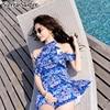 Bathing Suit Women Swimwear One Piece Swimsuit Woman Swim Dress Lady S Female Rashgard Bikini 2018
