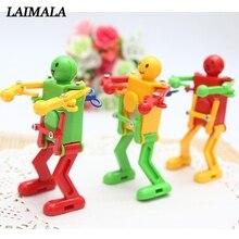 Новые Классические заводные игрушки для детей, детские пластиковые заводные весенние игрушки для танцев, игрушки-робот, подарки, детские игрушки