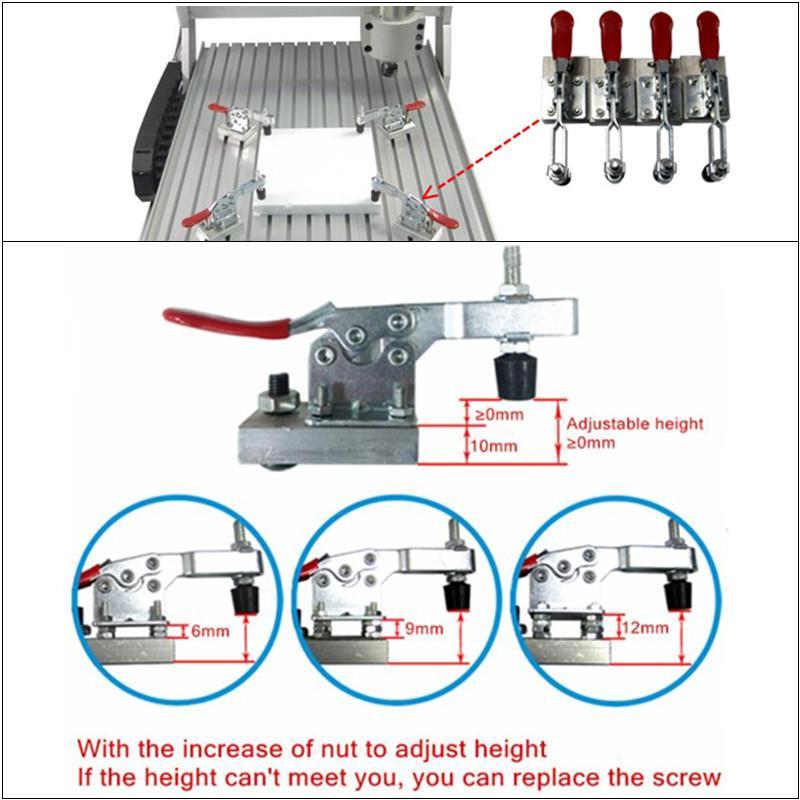 Router di CNC 8060Z 2200 W VFD mandrino raffreddato ad acqua macchina - Attrezzature per la lavorazione del legno - Fotografia 5