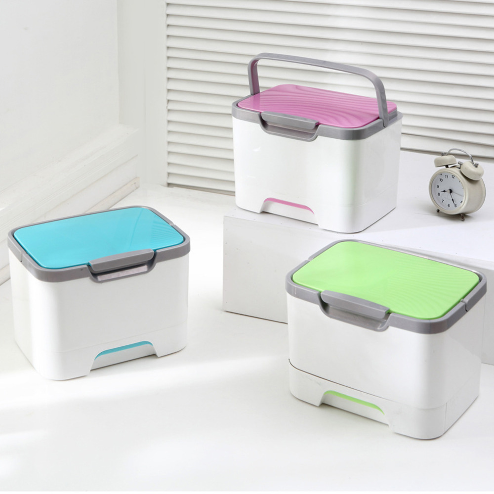 Fashion Multifunctional Makeup Cosmetic Storage Box ...