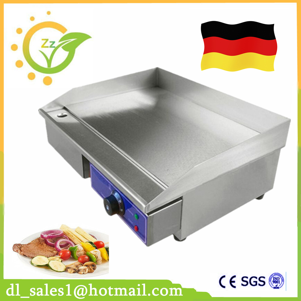 Best Price Electric Grill Pan Stainless steel Roaster Fried Meat  Pancake Making Machine For Home Commercial Use square pan rolled fried ice cream making machine snack machinery