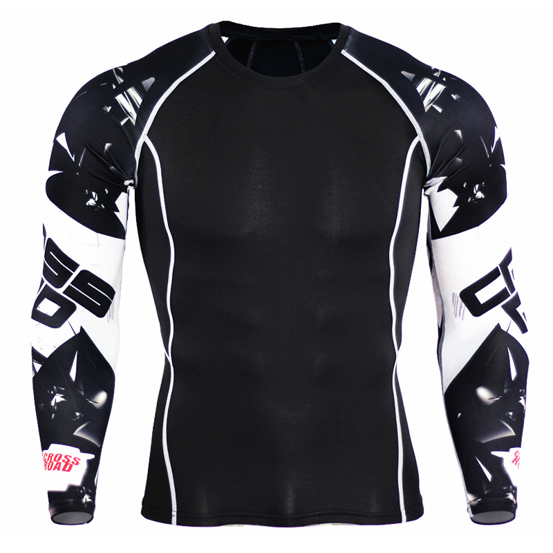Mens Compression Shirts 3D Teen Wolf Jerseys Long Sleeve T Ss