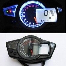 "Мотоцикл lcd цифровой спидометр тахометр PS250 мотоциклетные Инструменты 1""-21"" 500ohmic"