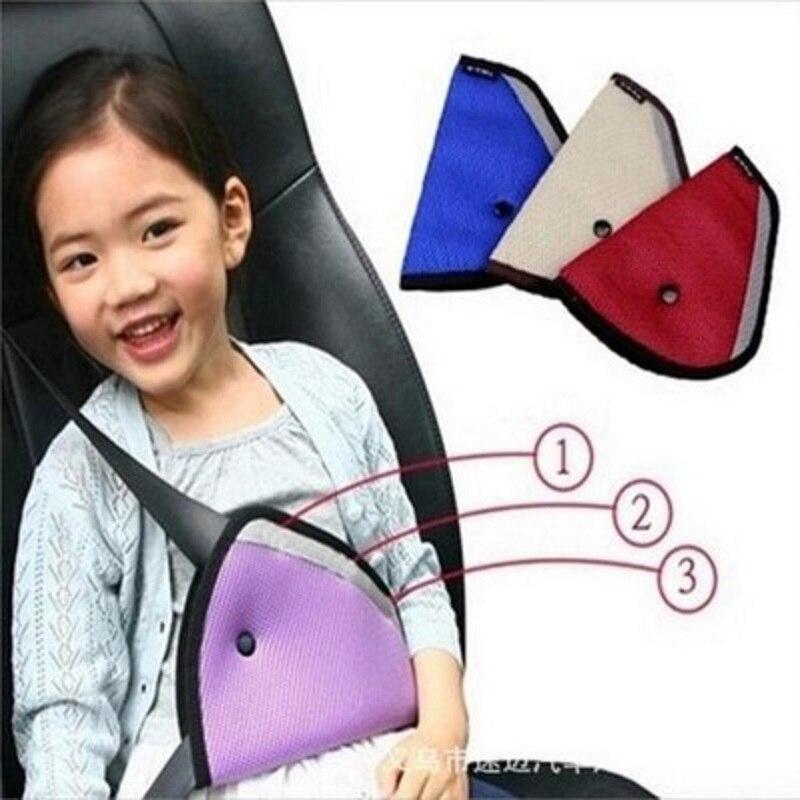 CHIZIYO Triangle Car Safety Belt Adjust For Child Kids Safety Belt Protector Adjuster Seat Belt Cover Shoulder Harness Strap
