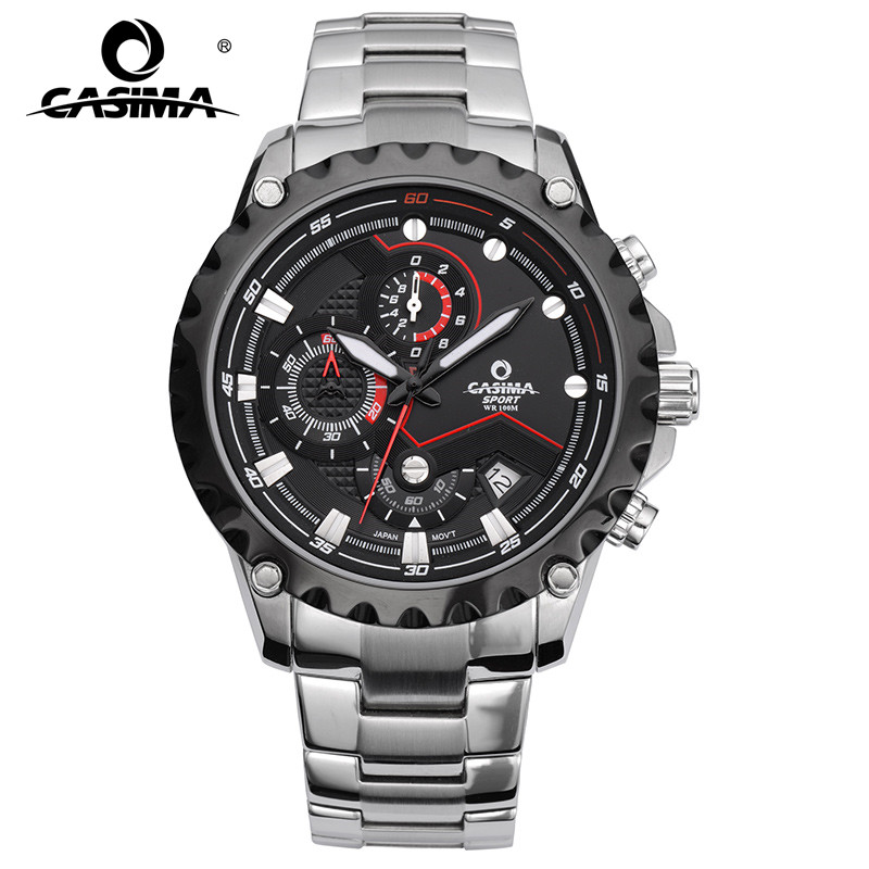 CASIMA men wrist watch sport men watches fashion quartz watch luminous waterproof watch men multifunction relogio mascul 8203