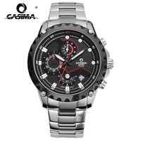 CASIMA Stainless Steel Watch Men S Watch Outdoor Sports Luminous Male Timing Table Movement Waterproof Male
