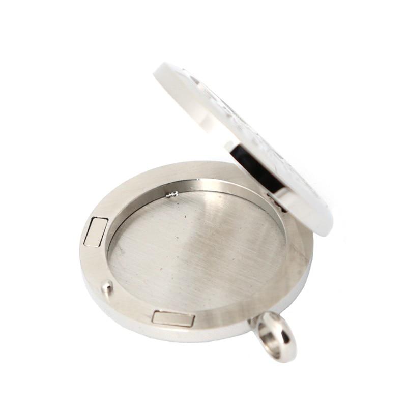 10 pièces 30mm acier inoxydable étoiles Premium aromathérapie huile essentielle diffuseur médaillon pendentif femmes collier-in Pendentifs from Bijoux et Accessoires    2