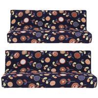 Elastic Sofa Cover Printed Flowers Slipcover Tight Wrap All Inclusive Slip Resistant Corner Sofa Cover Stretch
