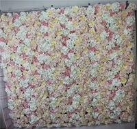 SPR serie Rosa rosa artificial flor de la boda centro de mesa pared telón de fondo la flor principal de carreteras mercado bola de la flor para el partido