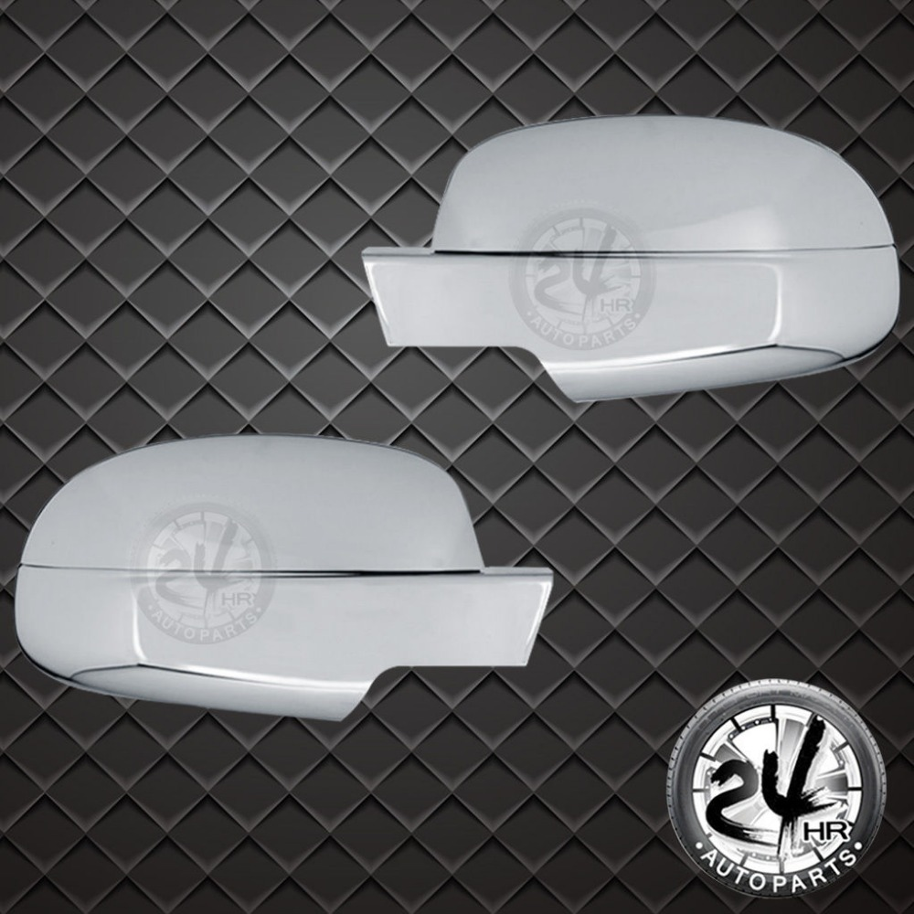 ФОТО Chrome Mirror Cover 4PCS 07-14 For Chevy Suburban/Silverado/For GMC Sierra/Yukon