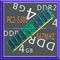 4 ГБ 667 мГц PC2-5300 RAM рабочего память DDR2 667 мГц PC2-5300 240pin 667 мГц рабочего памяти DDR2 4 ГБ 667 высокой плотности бесплатная доставка