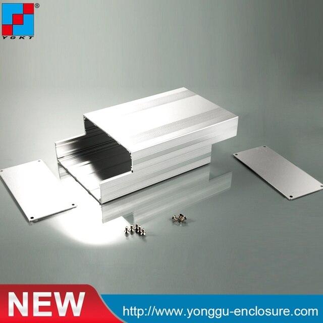 Boîtier d'armoire réseau en aluminium 145*54*200mm (WxHxL)/boîtier d'armoire DSP personnalisé/boîtier de routeur personnalisé, boîtier
