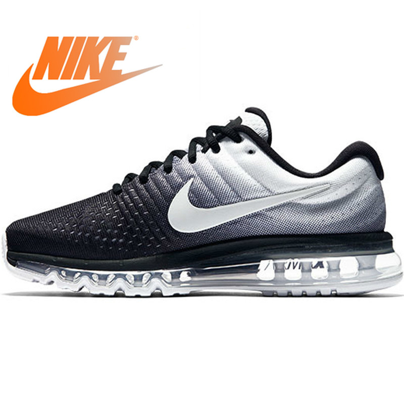 Original Authentic NIKE Air Max Breathable Men s Official Sports Sneakers Running Shoes 2017 New Arrival