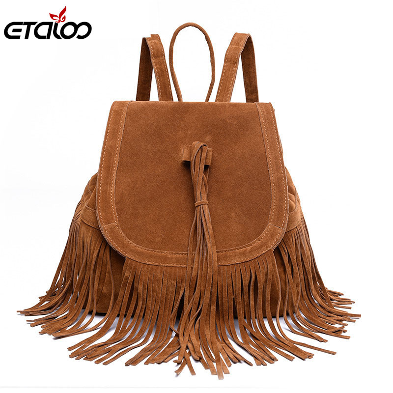 A generation of bag 2017 new foreign trade in Europe and America fringed shoulder bag fashion travel bag