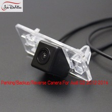 JanDeNing HD CCD Car Rear View Parking/ CCD Reverse Camera/License Plate Light OEM Waterproof For Audi Q3 2012-2014