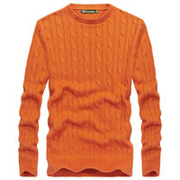 AFS JEEP Autumn Retro New Knitted Sweater Brand Clothing Men S Cotton O Neck Sweater Men
