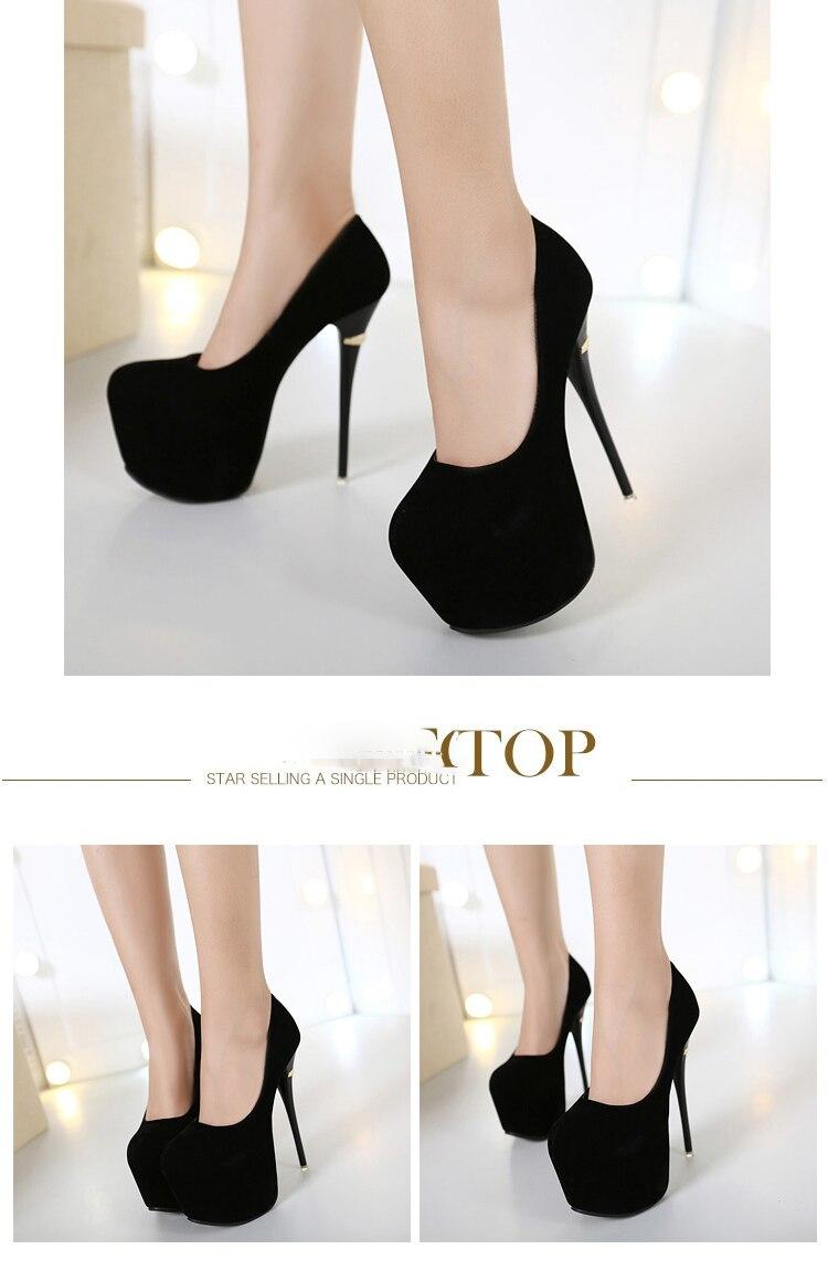 للنساء مضخات sapatos خصم 4