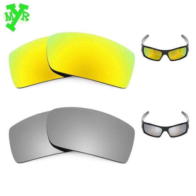 Mry 24 K oro y plata titanio 2 par polarizadas lentes de reemplazo para  OAKLEY gafas 8ac7f7afdd