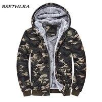 BSETHLRA 2017 New Hoodies Men Autumn Winter Jackets Men Hooded Army Camouflage Casual Windbreak Mens Jacket