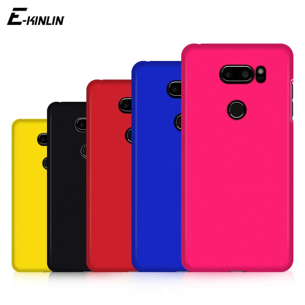 Ultra Dunne Slim Matte Hard Pc Plastic Telefoon Case Voor Lg V50 5G V40 V30 V30S Plus Thinq V20 v10 Frosted Back Cover