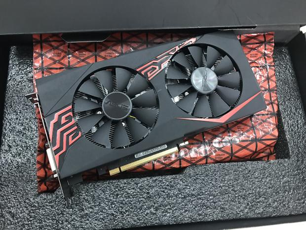 Used Lik New ASUS GTX1060 5G  GTX 1060-5G-SI Game Graphics Card