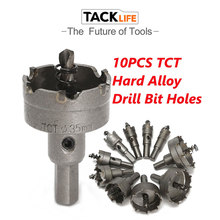 Alloy 10 Pcs Drill Tool Hole Saw Carbide Tip Portable Holes Awbit Stainless Steel Metal Power Tools Durable