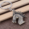 The new wholesale Metal Keychain small gift horse pendant creative Keychain horse fine jewelry