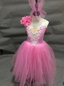 Image 3 - ballerina dress for kids girls adult women ballet dress tutu girls modern dance costume ballet costumes for adult girls women