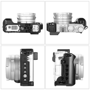 "Image 5 - SmallRig LX100 כלוב עבור Panasonic Lumix LX100 מצלמה כלוב כדי הר חצובה שחרור מהיר מגן כלוב עם נאט""ו רכבת  2198"