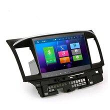 Авторадио 10.1 «Android 6.0 восемь основных автомобиля GPS DVD плеер для Mitsubishi Lancer Evo стерео головного устройства Поддержка TPMS/ OBD2/4 г/dab +