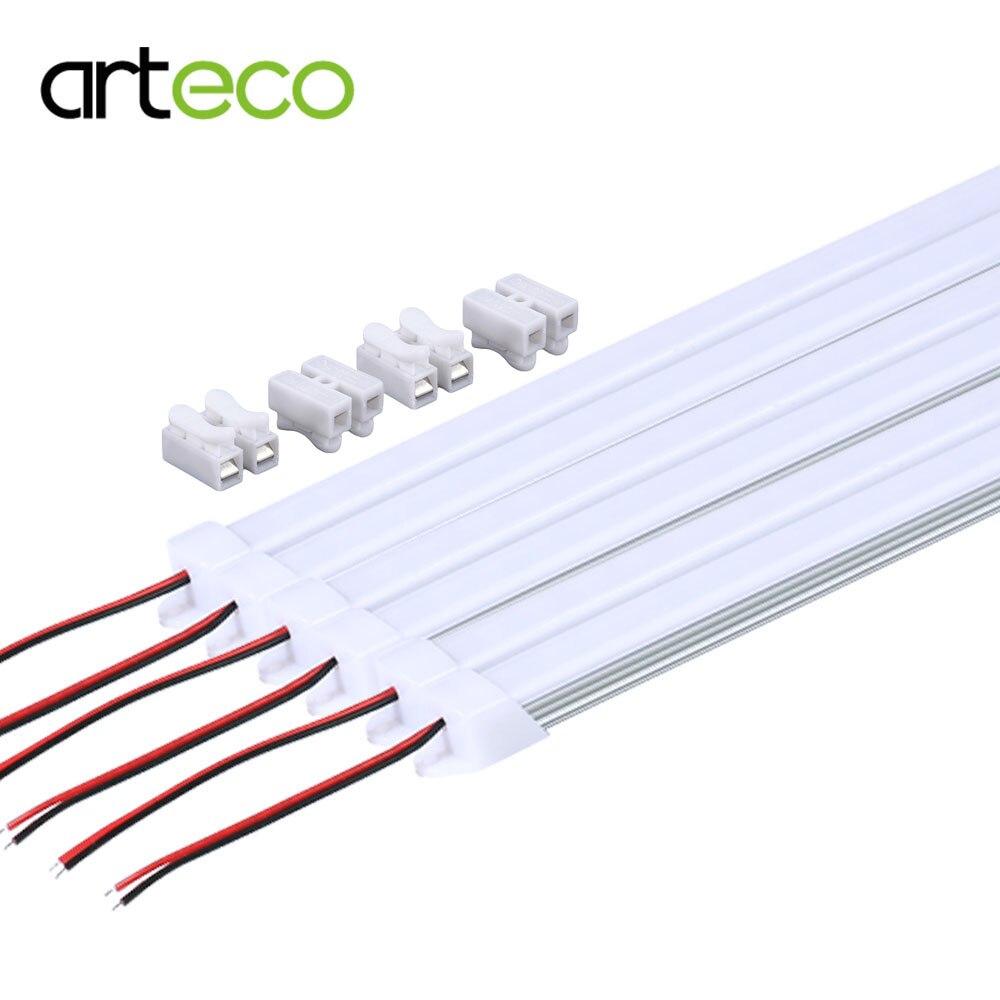 Pcs Smd Led Bar Light 12 Volt Led Strip Lights Simple: 8PCS/Lot 50CM DC12V LED Bar Light 5730 SMD With PC Cover
