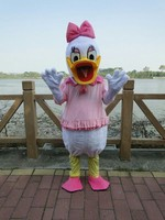 High Quality Adult Size Mascot Costume Donald Duck And Daisy Duck Mascot Costume Sales Free Shipping