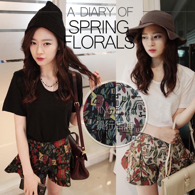 Nouveau printemps-été mode coton jacquard tissu haut de gamme vintage rose jacquard tissu robe shorts brocart tissu vêtements