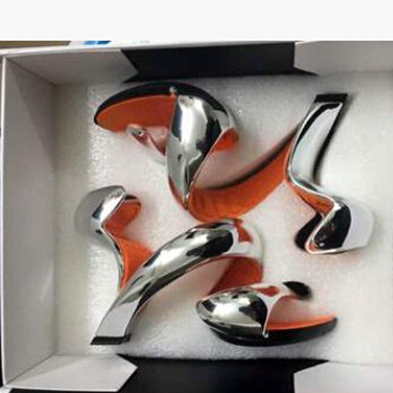 d57b68c9a5 Mojito Vestido Sexy Sapatos Sem Salto Sandálias Mulher de Salto Alto  Vermelho rosa Novidade Bombas Hoof Casamento Dedos Abertos Partido Macio  New Vogue em ...