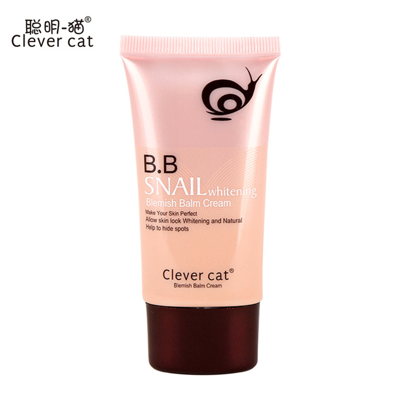 CLEVER CAT Brand Snails Sunscreen BB & CC Cream Base Perfect Concealer Primer Cover Skin ...
