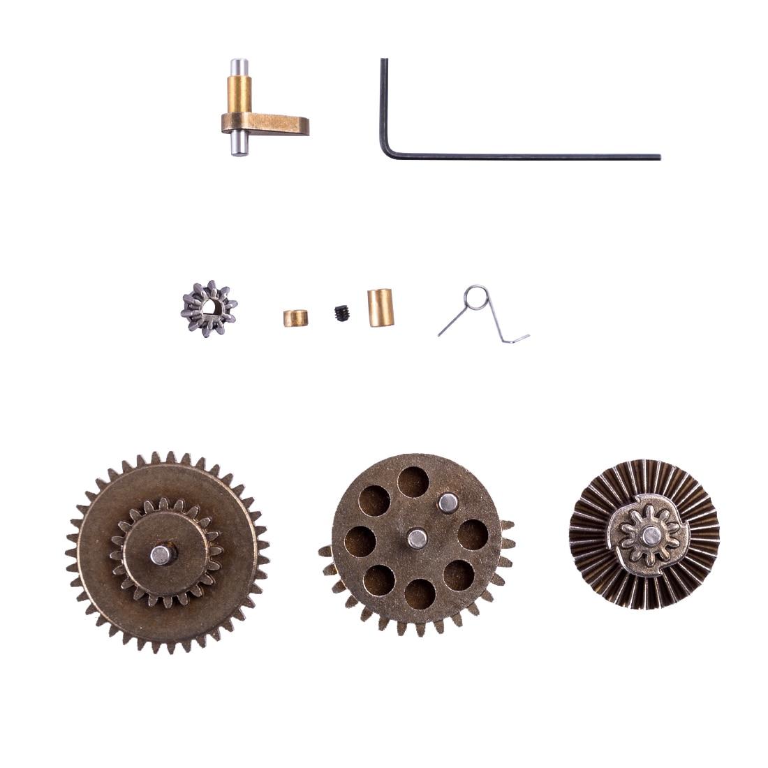 Envío Gratis caja de cambios Harden engranaje de Metal conjunto JM Gen.8 M4A1 agua perlas de Gel Blaster Modificación de reemplazo de alta calidad