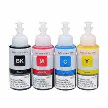 Dye Based Non OEM Refill Ink for Epson L100 L110 L120 L132 L210 L222 L300 L312 L355 L350 L362 L366 L550 L555 L566 printer