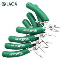 LAOA Mini ciseaux électroniques en acier inoxydable pince à Long nez pince diagonale coupe-fil