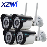 HD 1280 X 720P IP Camera Bullet Wifi Outdoor IR Security Camera ONVIF IR Night Vision