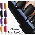 Top Matte Coat Cleaning Matt Coat Nail Gel Polish Matte Top coat LED UV Nails Matt Top Coat