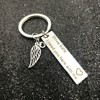Drive Safe Keychain I Need You Here With Me Gift For Trucker Husband Boyfriend Girlfriend Valentine's Day Gift