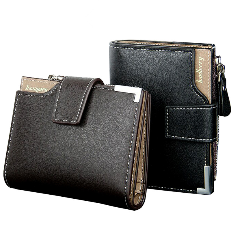 Wallet Men Leather Multifunction Men Wallets Zipper Coin Pocket Trifold Purse Card Holder Hasp Male Wallet Zipper Purse Carteira contact s genuine leather men wallets vintage hasp coin purse pocket with card holder italy leather zipper male short wallet