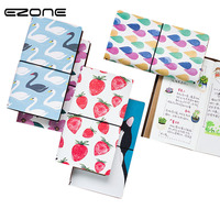 EZONE Creative Cute Cartoon Travel Journal Diary Book Exercise Composition Binding Note Gift Stationery School Office