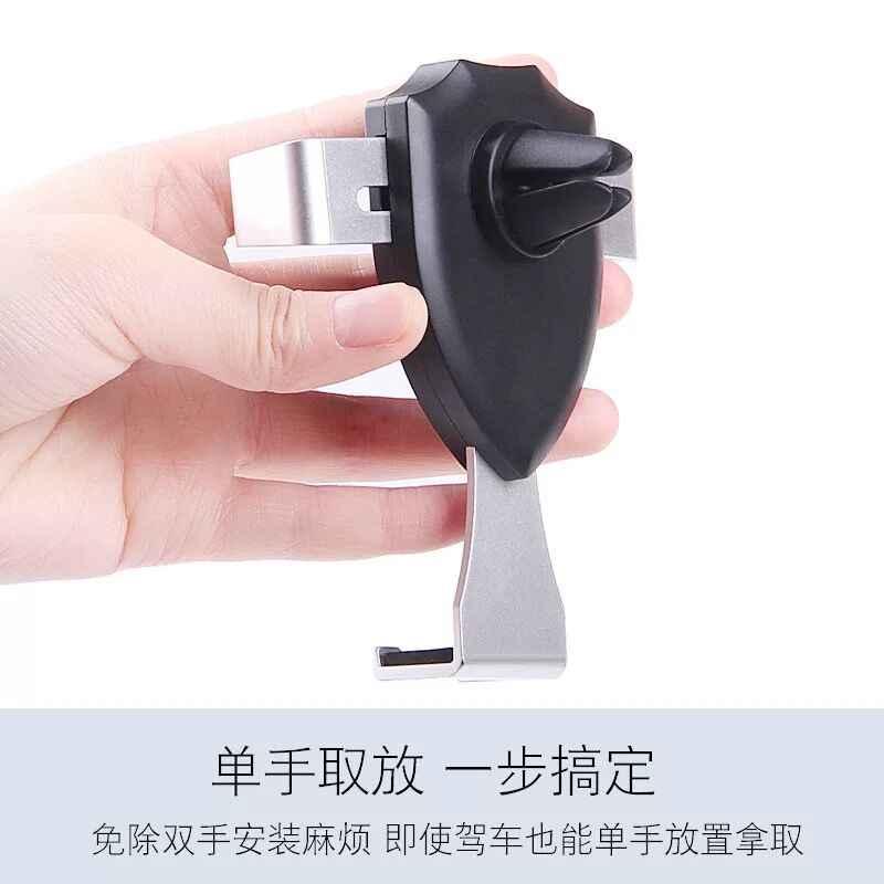 360 Derajat Universal Ponsel Dudukan Mobil Udara Vent Gunung Ponsel Mobil Ponsel Holder Stand untuk iPhone untuk Samsung untuk Xiaomi