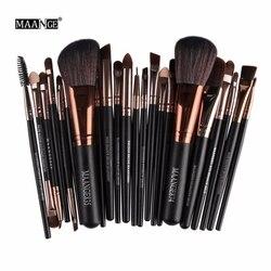 Nouveau Pro 22 Pcs Maquillage Cosmétique Pinceaux Bulsh Poudre Fondation Fard À Paupières Eyeliner maquillage pour les Lèvres Brosse Beauté Outils Maquiagem