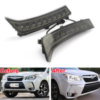 Brand New LED Daytime Running Light 9 Lamp Fit For Forester DRL Fog Lamp 2013 2015