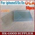 50 unids 5S pegamento Óptico OCA 250um adhesivo Para iphone5 freeshipping Correo Aéreo Registrado Del Poste de China/ePacket