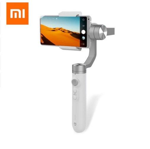 Stabilisateur portatif de cardan tenu dans la main de FORXiaoMijia 3 axes Intelligent suivant la batterie 5000 mAh pour la caméra d'action de téléphone Adroid d'ios