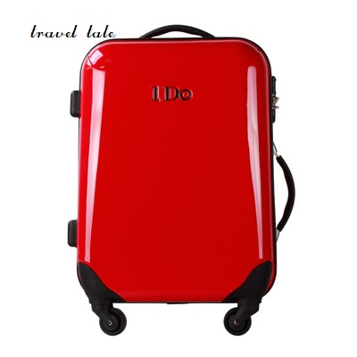 Pure color fashion high quality 20/24 inches ABS+PC Rolling Luggage Spinner Travel Suitcase Give you a better trip
