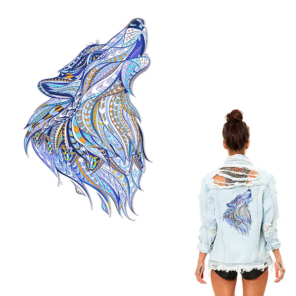 3D DIY Creative Animals Heat Transfer Patches Stylish Transfer Sticker For Clothes Sweater Decor Thermal Transfer Sticker Toys